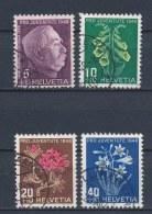 Zwitserland/Switzerland/Suisse/Schweiz 1948 Mi: 514-517 Yt: 467-470 (Gebr/used/obl/o)(1195)