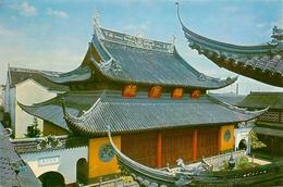 CPSM Chine-Shanghai Jade Buddha Temple     L2327 - Chine
