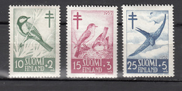 Finland 1952,3V,:birds,vogels,vögel,oiseaux,pajaros,uccelli,aves ,MH/Ongebruikt(A3140) - Non Classés