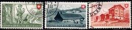 SWITZERLAND 1948 Anti-TB Fund 5c, 10c, 20c Used
