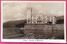 1941 TRIESTE CASTELLO DI MIRAMARE - Trieste (Triest)