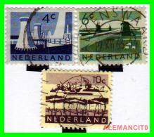 NETHERLANDS  (  PAISES BAJOS  )  HOLANDA  STAMPS 1962-63 - Period 1949-1980 (Juliana)