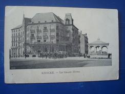 Knokke : Le Grand Hôtel Et Le Kiosque Avant 1906
