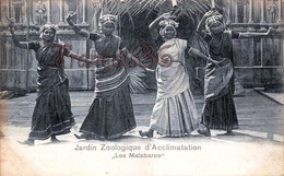 """Jardin Zoologique D'Acclimatation """"Les Malabares"""" Paris - Danse Danseuses - 2 SCANS - Danza"""
