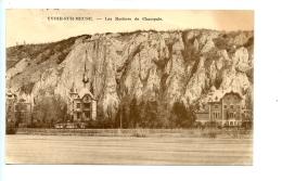 Yvoir-sur-Meuse - Les Rochers De Champale. (1935) / L'édition Belge