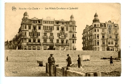 Knocke Le Zoute - Les Hôtels Excelsior Et Splendid / STAR 1473  (1927)