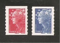 France, Adhésif, 175, 179, 4197, 4201, Neuf **, TTB, Marianne Et L´Europe, Marianne De Beaujard