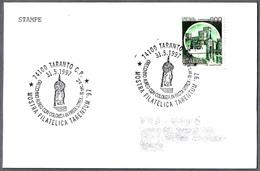 PENDIENTE DE ORO Siglo III A.C. - GOLDER EARRING C.III B.C. Taranto 1997 - Archaeology