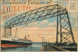 CPA Souvenir Folfer Of Duluth Minn.     L2327 - Duluth