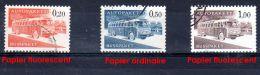 1963; Timbres Colis Par Autobus, YT 11a, 12 Et 13a, Oblitéré, Lot 47214