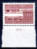 1962; Centeneaire Des Chemins Des Fer De L'Etat. YT 521, Neuf **, Lot 47217