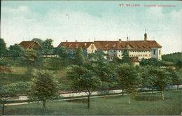 AK St. Gallen, Kloster Notkersegg, O 1913 (22199) - SG St. Gallen