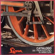 1966 LIMA - CATALOGO DEI TRENI ELETTRICI IN MINIATURA - X EDIZIONE 1966-67 - Autres