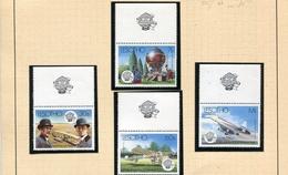 JET CONCORDE- Lesotho  4 Timbres Neufs ***AVIATION N°595-98 SUPERBES-dont Le Concorde