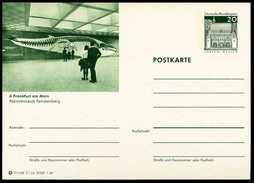79944) BRD - Bildpostkarte P 99 - C1/6 - * Ungebraucht - 20Pf Lorsch - 6000 Frankfurt Am Main, Naturmuseum, Wal - Geïllustreerde Postkaarten - Ongebruikt
