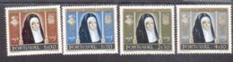 872 - 875 Königin Leonor MNH ** Postfrisch Neuf - 1910-... République