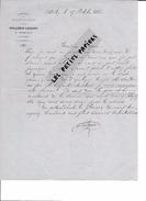 52 - Haute-marne - ANDILLY - Facture VOILLEMIN-LOGEROT - Fabrique De Fromages De Langres - 1886 - REF 258 - France
