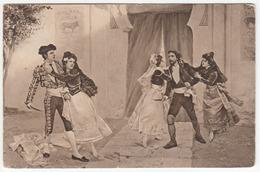 Cipolla, Carmen (Bizet) Old Postcard Travelled 1912 Dornegg In Krain (Postojna) To Innsbruck B*170215 - Opera