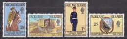 Falkland Islands 1970 Defence Force 4v ** Mnh (34838) - Falklandeilanden