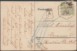 Lourenço Marques 1913. Carte Postale Taxée Pour L'Allemagne. Deutsche Ost-Afrika-Linie - Mozambique