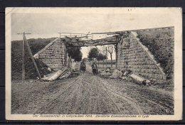 Zerstörte Eisenbahnbrücke In Lyck, Der Russeneinfall In Ostpreussen 1914 - Guerre 1914-18