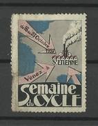 """Vignette - Cinderella """" Semaine Du Cycle à ST ETIENNE Octobre 1927 """""""