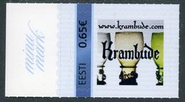 ESTONIA ESTLAND Personalisierte Briefmarke Meine Marke Krambude My Stamp 2014 MNH - Estonia