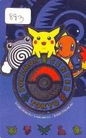 Télécarte Japon * POKEMON * NINTENDO (893) TELEFONKARTE * FILM * CINEMA * TURTLE * MANGA DRAGON * Japan Movie Phonecard - Film
