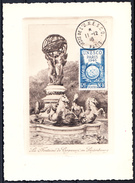 FRANCE - N° 771 - CONFERENCE GENERALE DE L'U.N.E.S.C.O. - CARTE GRAVEE DU 11.12.1946 - LUXE