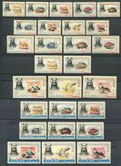 193 AJMAN 1964 - Yvert 1/18 - A 1/9 - Dromadaire Oiseau Poisson Tortue -  Neuf ** (MNH) Sans Trace De Charniere