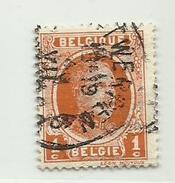 (38) Timbre Belgique Roi Albert I   N° 190 - 1c - 1922-1927 Houyoux