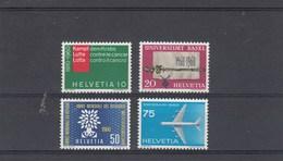Suisse - Neufs** - Propagande - Année 1960 - Y.T. 639/642 - Suisse