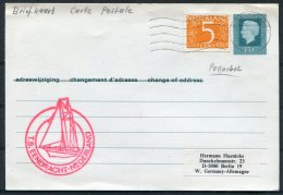 Netherlands T.S. EENDRACHT Nederland Paquebot Ship Postcard - Covers & Documents