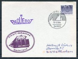 1994 Netherlands Kiel Germany PAQUEBOT Albert Johannes Nederland Postcard - Period 1980-... (Beatrix)