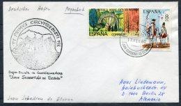 1980 Spain 'Juan Sebastian De Elcano' Buque Escuela Exploration Ship Cover - 1931-Today: 2nd Rep - ... Juan Carlos I