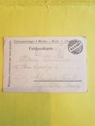 Carte Prisonnier De Guerre 12/06/1915  FELDPOSTKART De MINDEN  Pour CLERMONT FERRAND. (REF 220) - Marcophilie (Lettres)