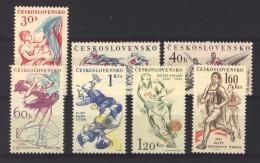 Tchécoslovaquie  :   Yv  1125-31  **   Sport