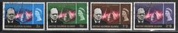 British Solomon Islands Churchill Commemoration 1966 Part Of An Omnibus Issue.