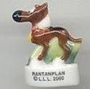 Fève  Lucky Luke LLL 2000 Rantanplan - BD
