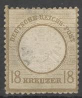 Deutsches Reich 18 * Nachgummiert
