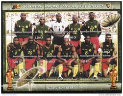 2002 FIFA World Cup ,SOCCER On SOUVENIR STAMPS SHEET,MNH,MINT