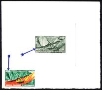 NOUVELLE-CALEDONIE - N°PA 74 - Type NON EMIS - Explotation De Nickel à Houaïlou - Epreuve D'artiste En Gris-vert. - Sonstige