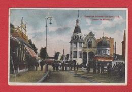 Gand  --  Expo Universelle De Gand 1913 --  Avenue Du Belvédère  --  Coin Plié - Gent