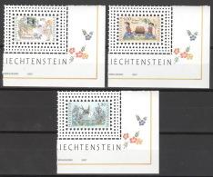 Liechtenstein 1442/44 Eckrand ** Postfrisch