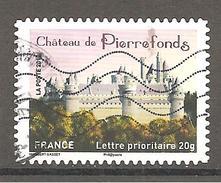 FRANCE 2012 A A 734  :  Oblitéré Cachet Rond - France