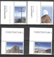Liechtenstein 1514/17 Eckrand ** Postfrisch