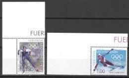 Liechtenstein 1543/44 Eckrand ** Postfrisch