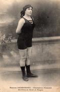 Berthes DESBORDES - Champion Féminin - Recordman Du Monde De Plongeon  - UNIQUE - High Diving