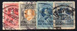 Y2044 - SIAM 1920, Quattro Valori Usati - Siam