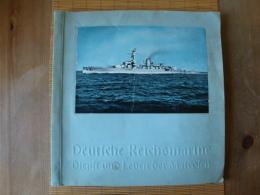 Sammelbilderalbum Deutsche Reichsmarine, Dienst Und Leben Der Matrosen ! - Sammelbilderalben & Katalogue